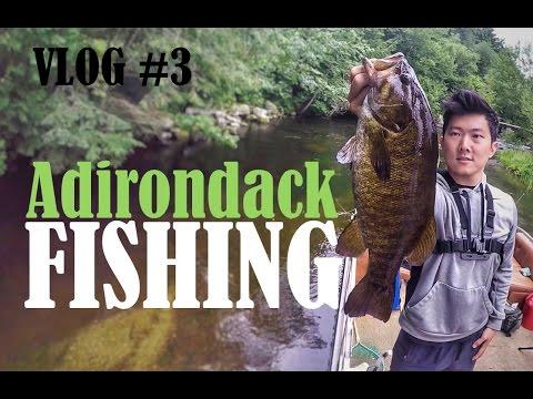 VLOG #3: Adirondack Fishing And Camping Trip