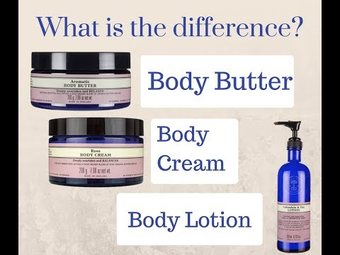 NYR Organic Body Butters, Creams, and Lotions