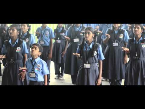 Sounds Of Silence - National Anthem by Hearing Impaired Students