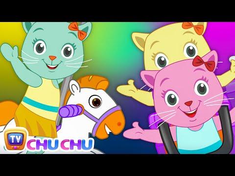 Three Little Kittens Went To The Theme Park (SINGLE)   Nursery Rhymes & Songs by Cutians   ChuChu TV