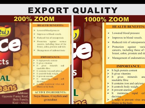 How to Export Vector to High Quality Image from CorelDRAW 2019