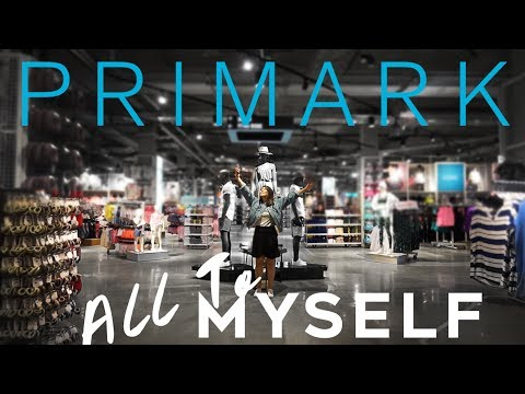 EMPTY PRIMARK TO MYSELF! Try-On Haul & Vlog