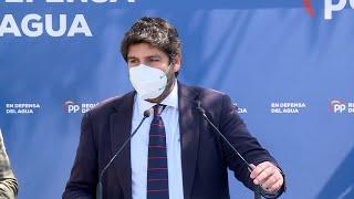 "López Miras, sobre querella de PSOE: ""Que se centren en gestionar la pandemia"""