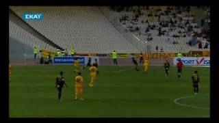 BUT DE DJEBBOUR aek athena vs Aris Thessaloniki