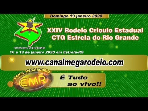 XXIV Rodeio Crioulo Estadual - CTG Estrela do Rio Grande - Estrela-RS 19/01/2020 Domingo