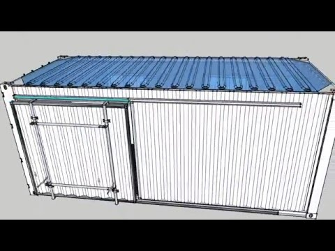 office modifikasi contoh bukaan pintu container 4 project pa