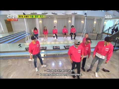 Jin Goo CUTE face (Sersan Seo Dae Young) Running Man episode 297
