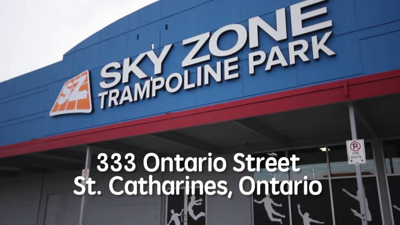 sky zone comes to niagara youtube. Black Bedroom Furniture Sets. Home Design Ideas