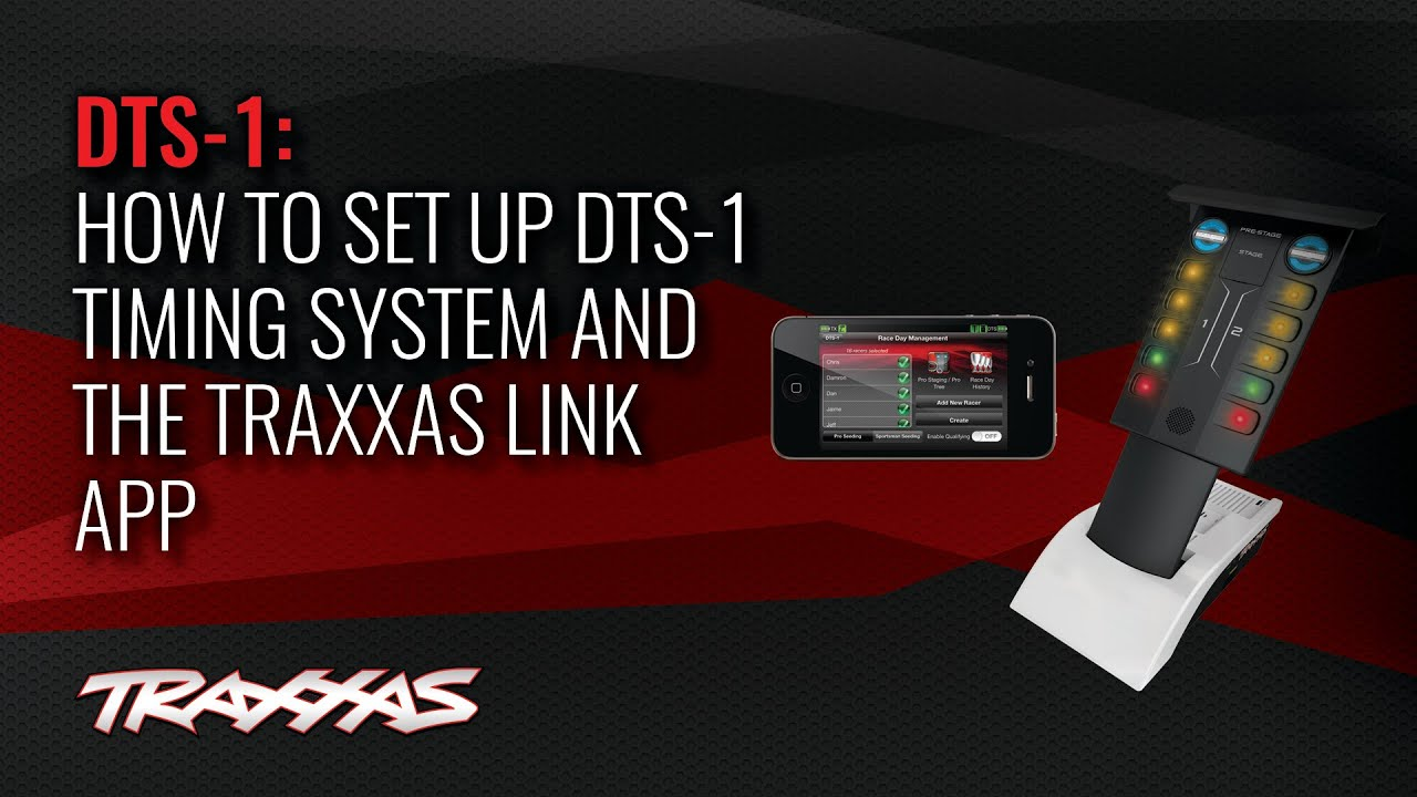 How to Set Up the DTS 1 and Traxxas Link App