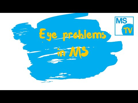 Eye Problems In MS