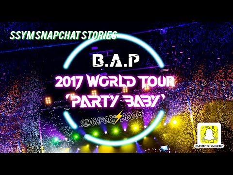 [SSYM SNAPS] 170818 BAP Party Baby Singapore Boom