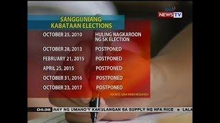 BP: Barangay at SK elections, gustong ipagpaliban muli ni Rep. Umali