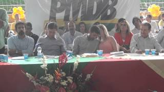 Pronunciamento Galdencio Lucena encontro do PMDB Crato