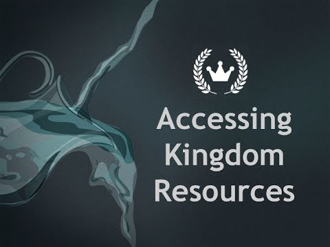 John Koe - Accessing Kingdom Resources