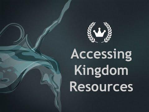 John Koe - Accessing Kingdom Resources
