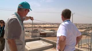 UNICEF Middle East and North Africa Regional Director visits Zaatari Refugee Camp