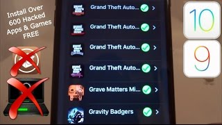 NEW Install Over 600 Hacked Apps & Games FREE iOS 9 / 10 - 10.2 NO Jailbreak NO PC iPhone iPad iPod