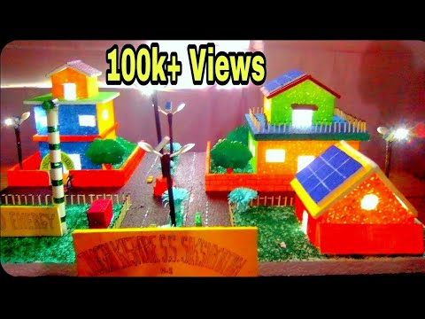 Solar energy system school project || science projects
