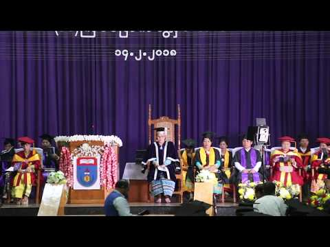 Class of 2018 Graduation - University of Pharmacy Mandalay