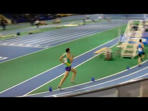 Sheffield Indoor Open 3000m - 1st December 2018