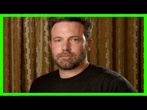 Ben affleck accused of groping tv presenter and being complicit in weinstein scandal