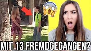 TREUE TEST an 13 Jährigen JUNGEN | FREMDGEGANGEN (... geht schief..) 😱😤