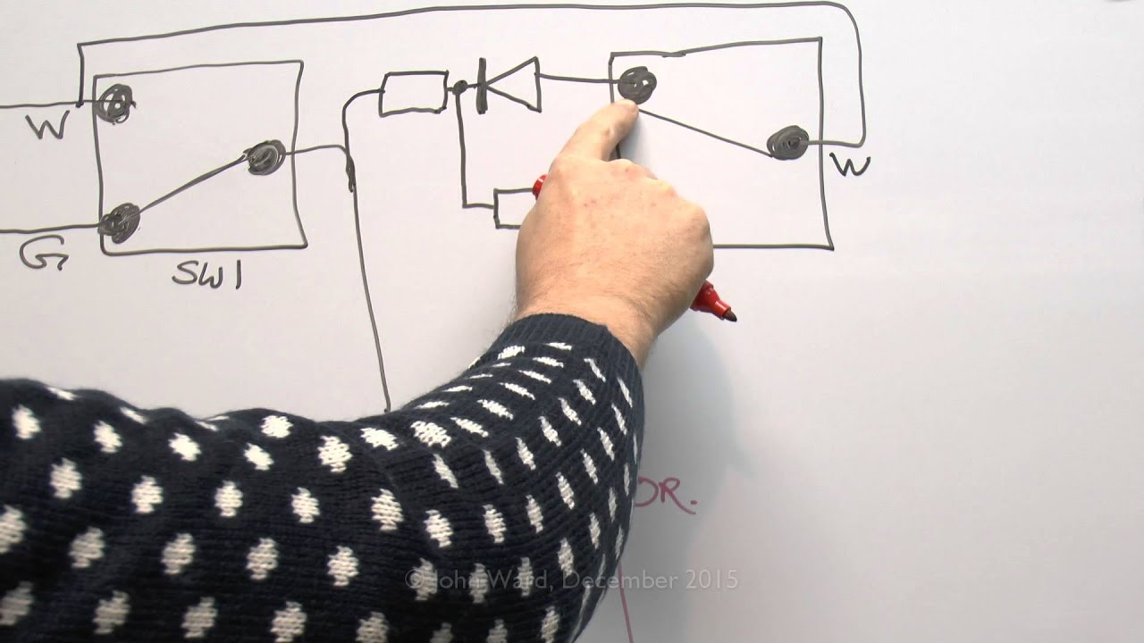 central heating - how the mid position y plan 3 port valve works