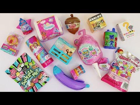 Squishies surprise toys Pikmi Pops Cotton Candy, Spirit, PJ Masks, Shopkins Lil Secrets