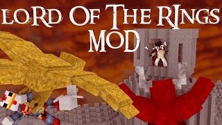 "Minecraft | Fellowship - Lord Of The Rings Modded Survival Ep 7 ""STORMING THE GATES"""
