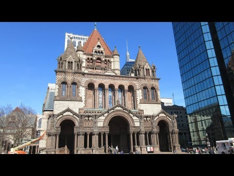 Copley Square and Prudential Center