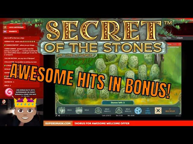 GREAT Bonus! Good old Secret of the Stones!