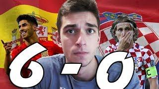 Spain vs Croatia 6-0... WE'RE DOOMED