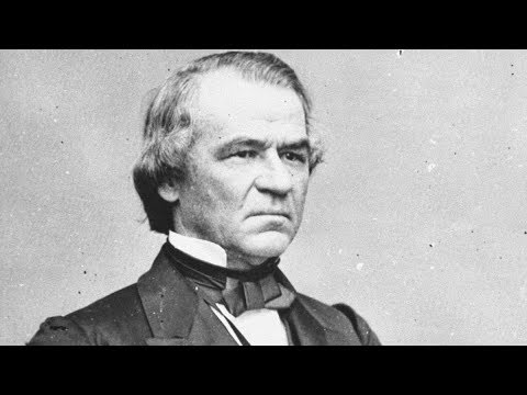 17TH PRESIDENT - ANDREW JOHNSON - RAP FACTS