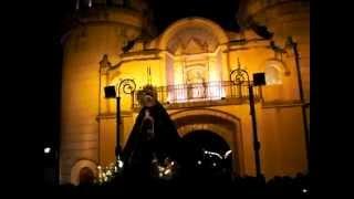 Virgen de la Soledad Puerta  de Palmas 2012 Badajoz