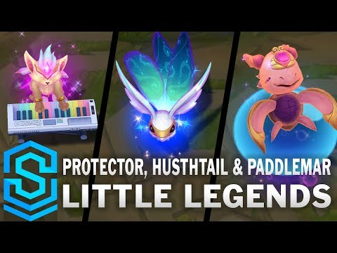 New Protector, Hushtail, and Paddlemar Little Legends are