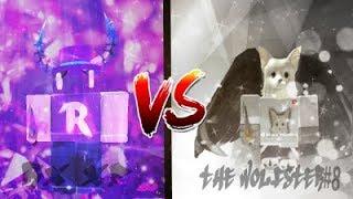 TEAM RX VS TEAM WOLFPACK | Roblox knife wars