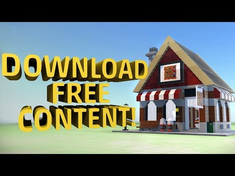 How to Download FREE Content in LEGO Worlds!