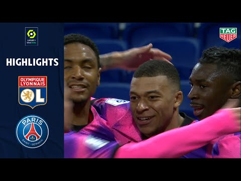 Lyon PSG Goals And Highlights