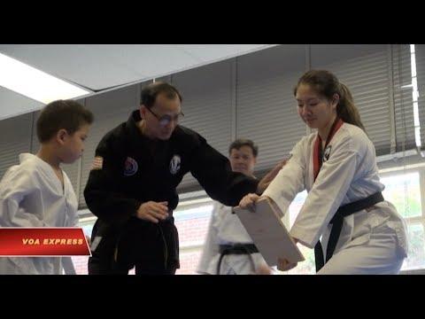 Học võ và học làm người ở Virginia, Hoa Kỳ