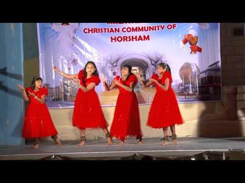 Ente Aduthu Nilkuvan yesu undu    Group Dance by Malayalam Christian Community Horsham
