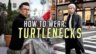 3 Ways to Style TURTLENECKS || Men's Fashion Advice 2018 || Gent's Lounge