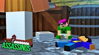 Minecraft: ASSASSINOS PEQUENOS!