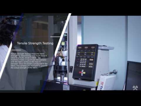 TenCate Science: Tensile Strength Test