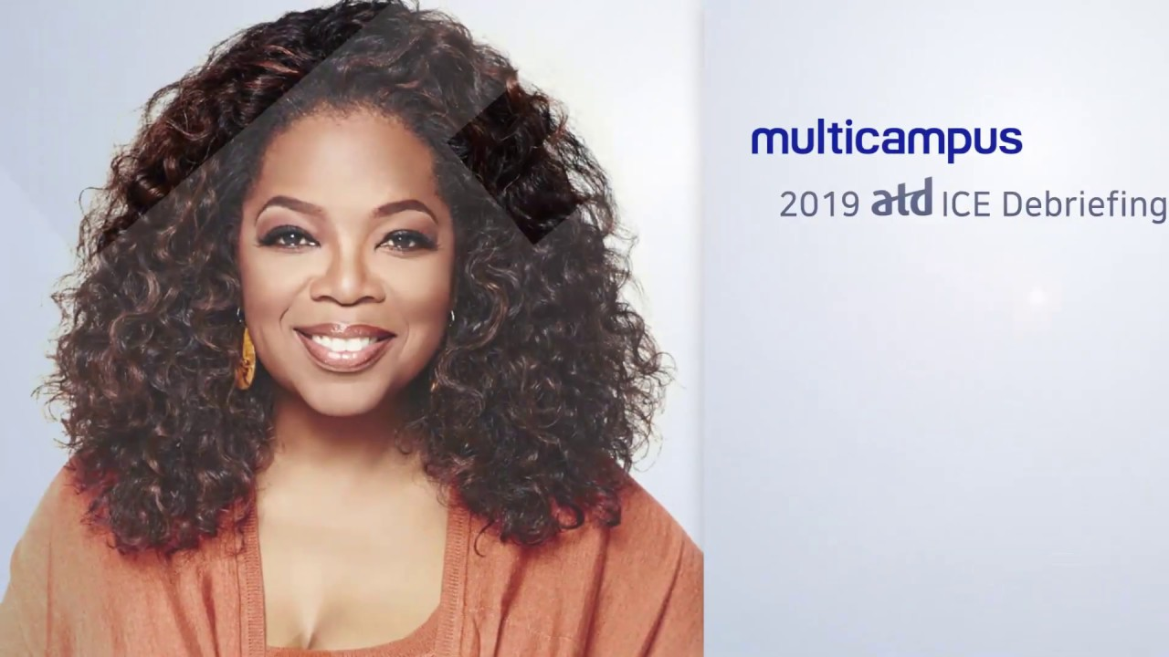 2019 Atd Ice Keynote1 Opening Speech Oprah Gail Winfrey Eng Sub