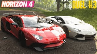 Forza Horizon 4 : Lamborghini Aventador SV vs Lamborghini Aventador vs Lamborghini Aventador FE
