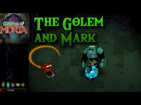 Mark Takes The Golem Down! | Children Of Morta | Action RPG Roguelike
