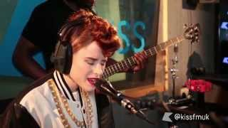Kiesza performs Hideaway Live at Kiss FM (UK)