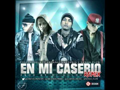 Cosculluela Ft. Algenis, Ñengo Flow & Arcangel - En Mi Caserio (Remix) New 2013