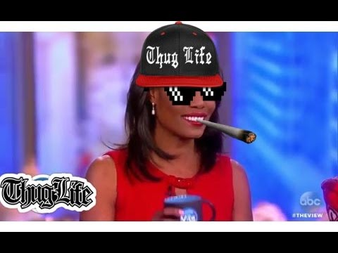 AMOROSA GOES THUG LIFE ON JOY FROM THE VIEW