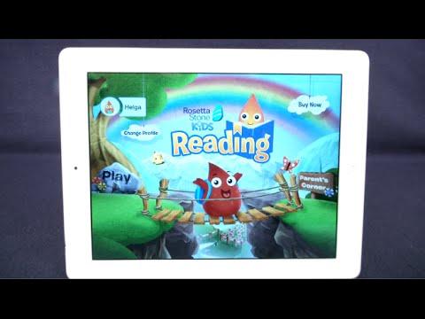 Rosetta Stone Kids Reading from Rosetta Stone